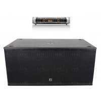 "Dual 15"" Subwoofer with Amplifier"