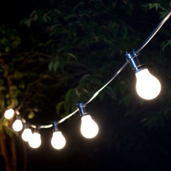 LED Festoon Lighting 8m (Hire)