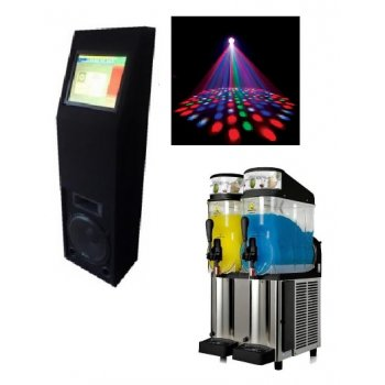 Digital Jukebox and Slushie Machine Package (Hire)
