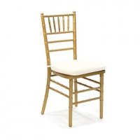 Premium Gold Tiffany Chair (Hire)
