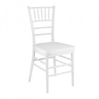Premium White Tiffany Chair (Hire)