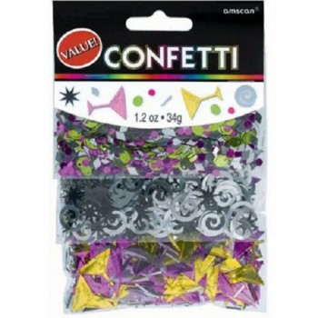 Amscan Confetti Value Pack Martini Bar