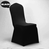 Premium Chair with Black Stretch Cover (Hire)
