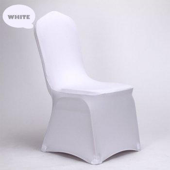 Premium Chair with White Stretch Cover (Hire)