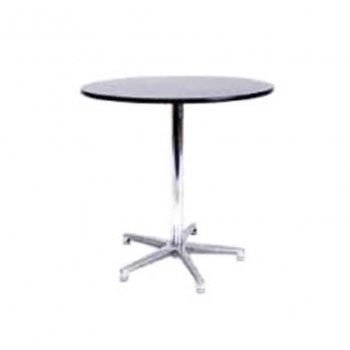 Aluminium Cafe Table (Hire)