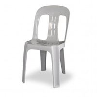 Premium White Heavy Duty Bistro Chair (Hire)