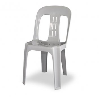 Standard White Heavy Duty Bistro Chair (Hire)