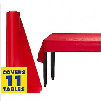 Plastic Table Cover Roll 30m Red  sc 1 st  Impact Party Hire & Hire Plastic Table Cover Roll 30m Red | Impact Party Hire Penrith ...